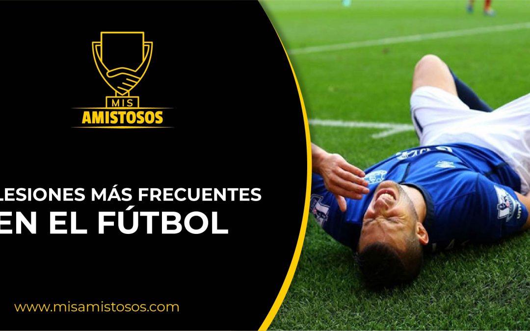 Lesiones más frecuentes en fútbol. Parte I