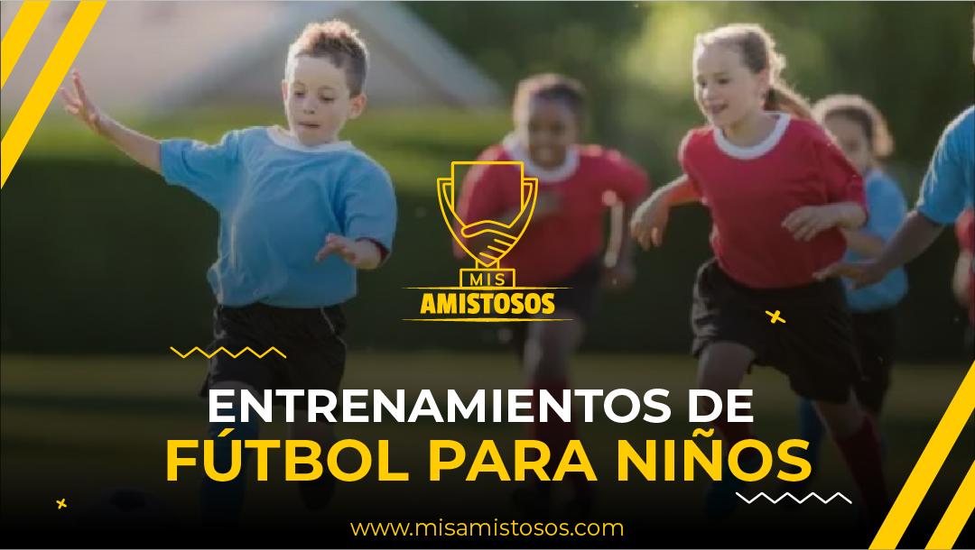 Entrenamientos de fútbol para niños. No todos aprenden igual.