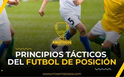 Principios tácticos del fútbol de posición
